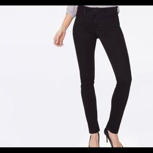 Skinny Women's Black Jeans, by NYDJ, Size 14